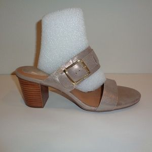 Clarks Size 9 M RALENE ROSE Champagne New Sandals